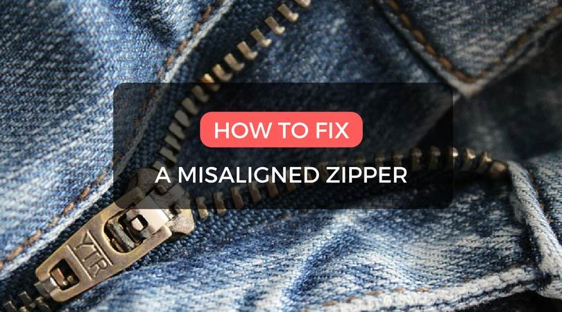 How to fix a misaligned zipper in 7 easy steps gray wolf life how to fix a misaligned zipper in 7 easy steps ccuart Images