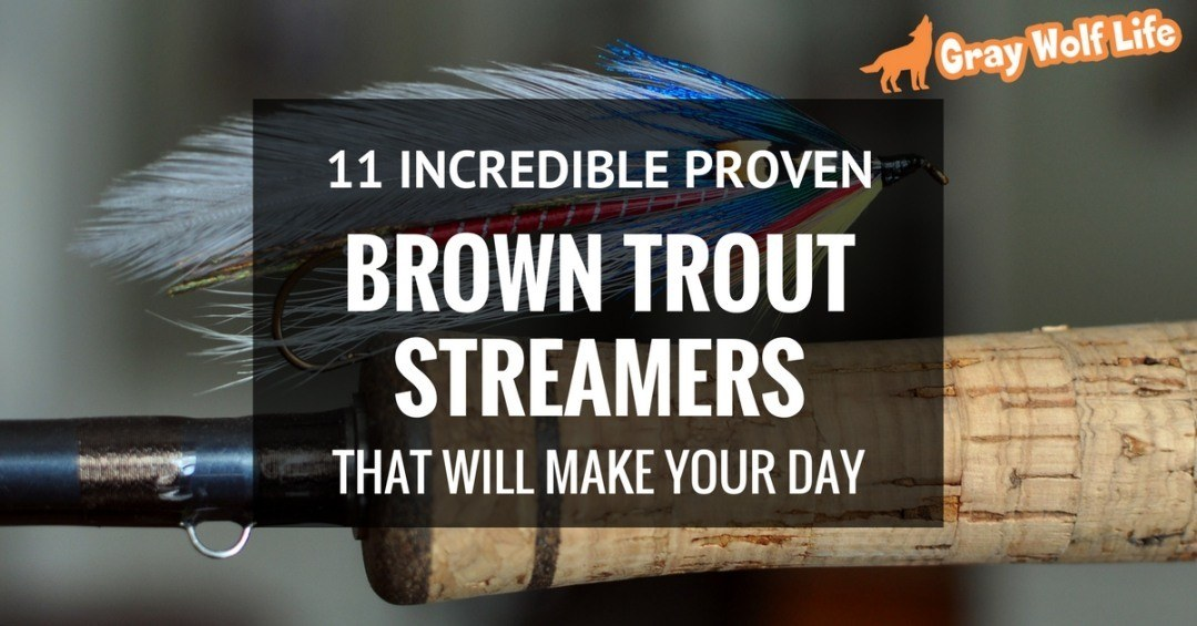 brown trout streamers