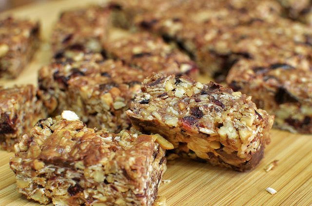 Trail Mix, Granola Bars, or Fiber Bars