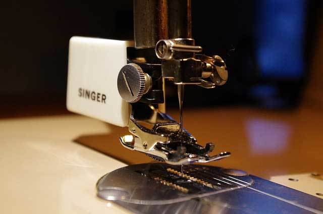 Needle and Thread or a Sewing Machine
